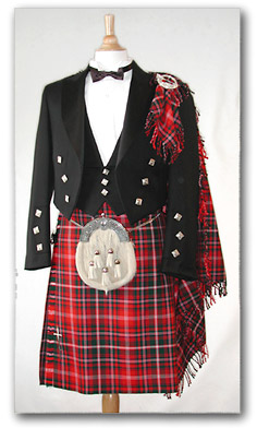 Heavy weight 8 yard kilt