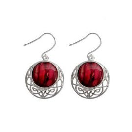 Heathergem Cormag Celtic Knot Earrings HE88