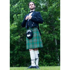 irish county tartan 13oz 8yd kilt