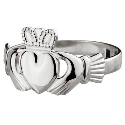 Maids-Claddagh-Ring-14kt-White-Gold-S2549