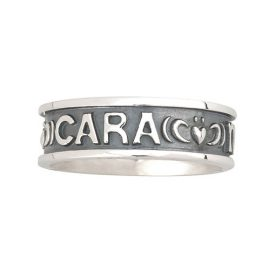 Gents Mo Anam Cara Ring Sterling Silver S2843