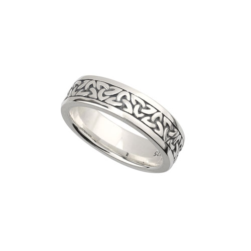 Ladies Trinity Knot Ring Sterling Silver S21011