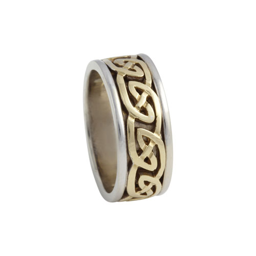 Blair Celtic Knot Ring Large 14kt Gold KELKAR07L