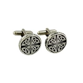 trinity-knot-round-cufflinks-polished-pewster-kcl26p