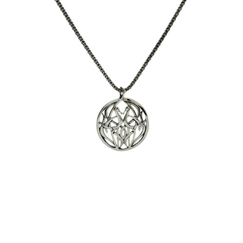 Heron Pendant Small Sterling Silver PPS7407