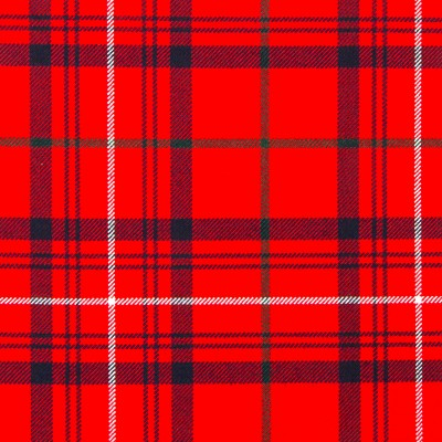 Rose Red Modern Strome HW Tartan
