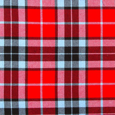 Thompson Red Modern Strome HW Tartan