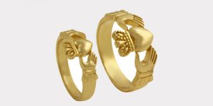 Gold Claddagh Rings